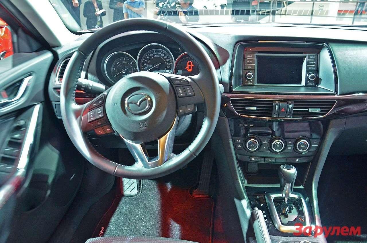 Торпедо универсала Mazda6