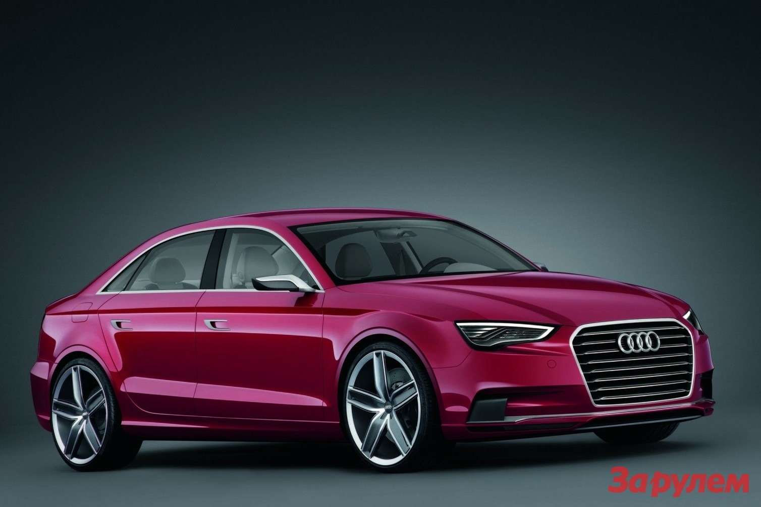 Audi A3 Concept side-front view