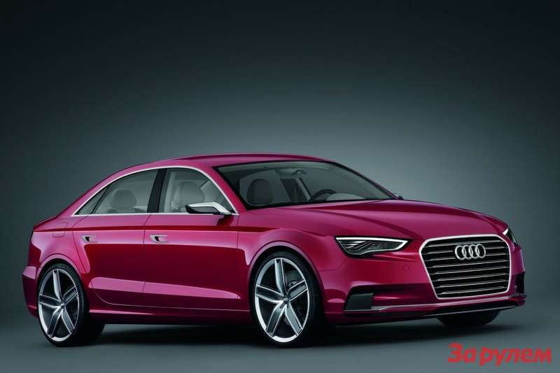 Audi A3Concept side-front view