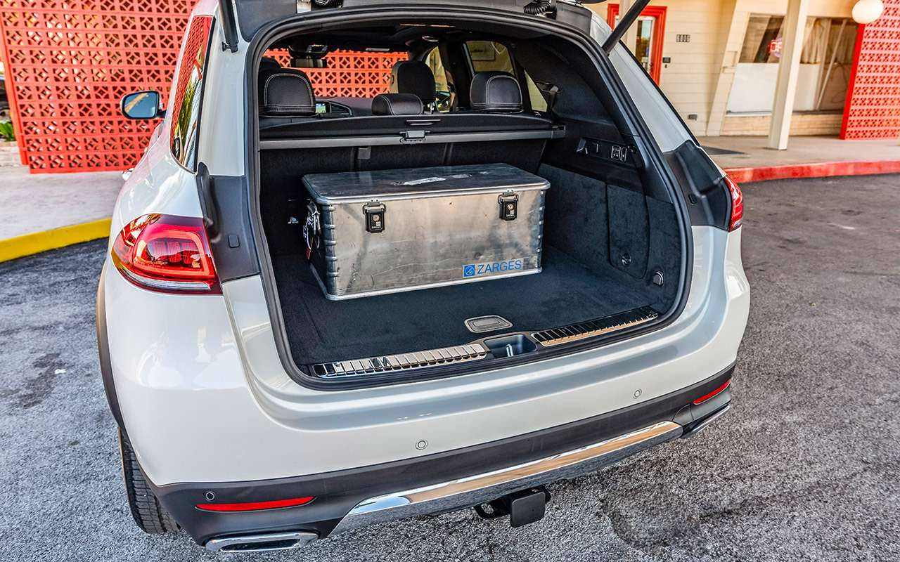 Барон Мюнхгаузен: новый Mercedes-Benz GLE ивсе его фишки— фото 941294