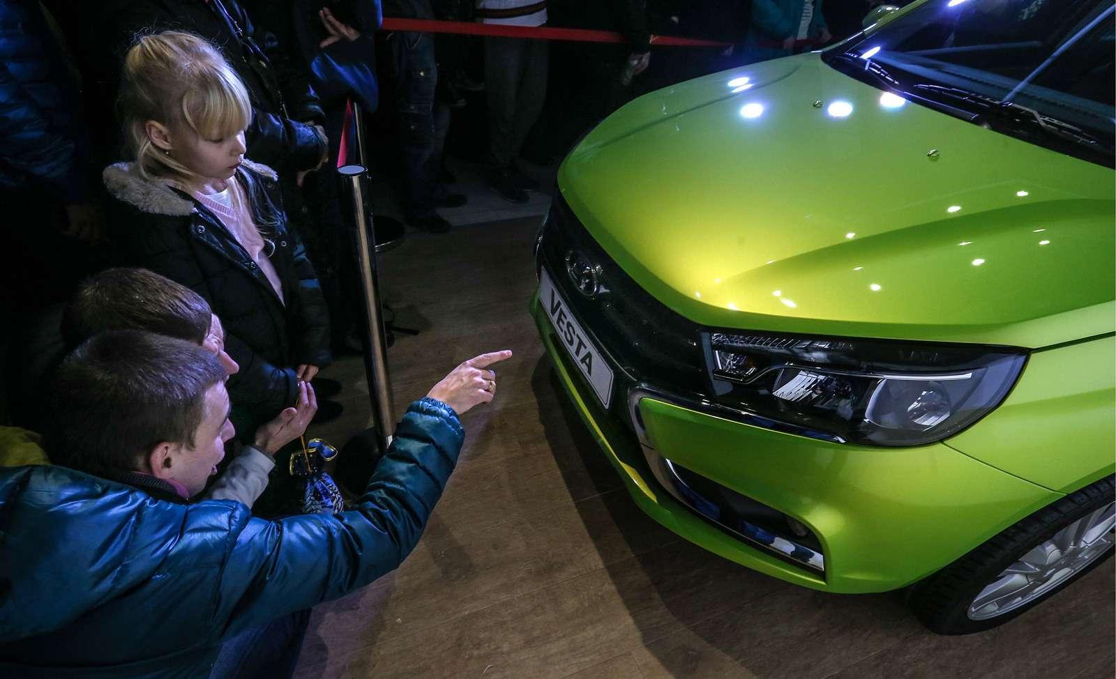 Lada Vesta car launched inRussia