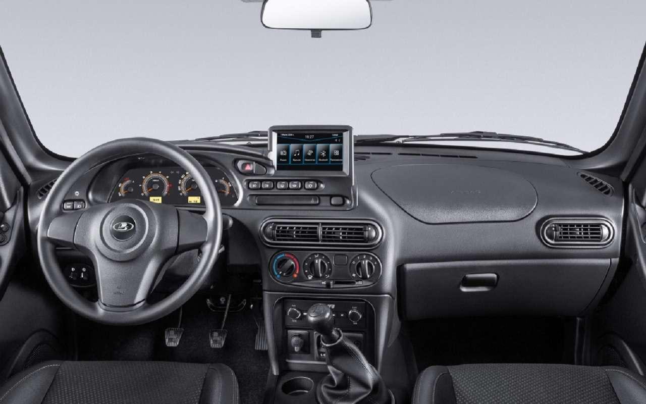 Lada Niva официально: как выглядит, какие приборы исколько стоит— фото 1144302