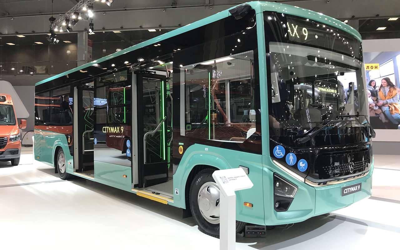 5 перспективных автобусов наCOMTRANS 2021(+троллейбус КАМАЗ)— фото 1276394
