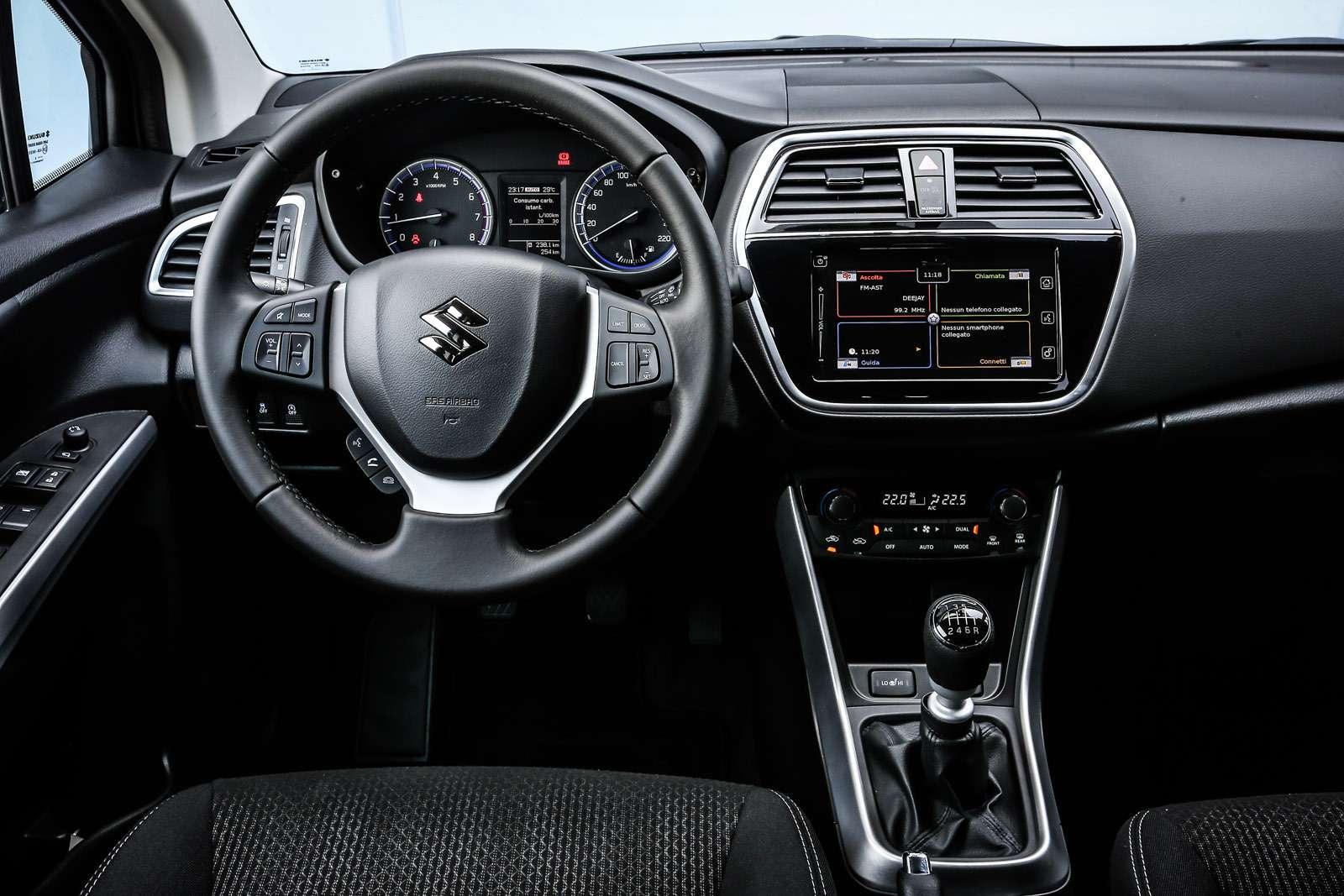 Появились российские комплектации обновленного Suzuki SX4— фото 612431
