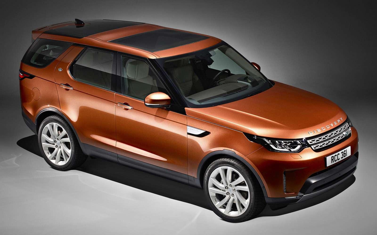 Land Rover Discovery V: Диско вновом стиле— фото 640284
