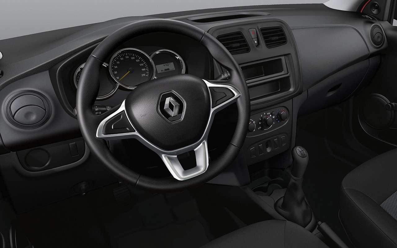 Renault рассказала обобновленных Logan иSandero. Цены уже известны— фото 886064