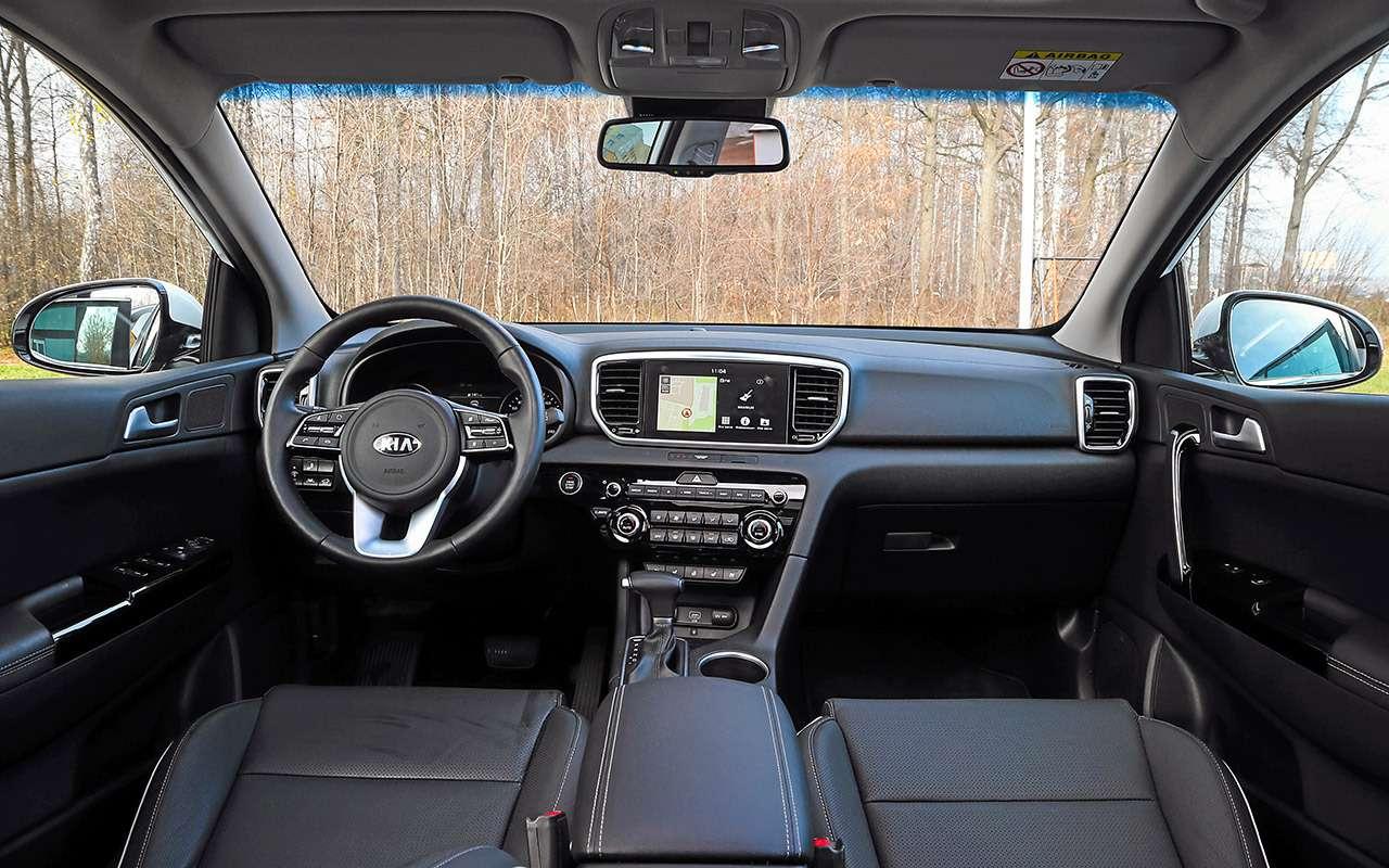 Новый Subaru Forester против конкурентов: большой тест кроссоверов— фото 935675