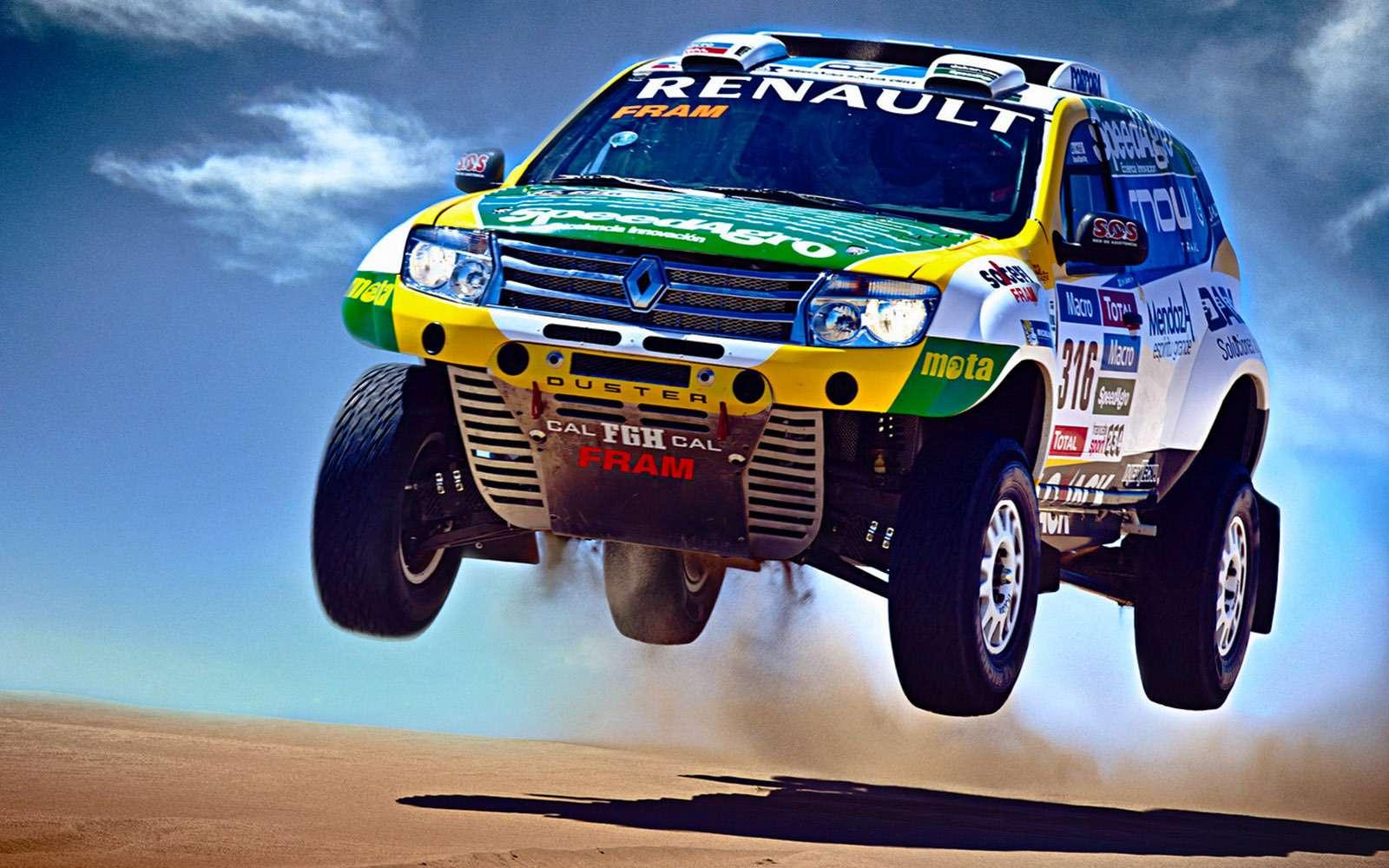 Renault Duster Dakar Edition: это только начало!..— фото 698371