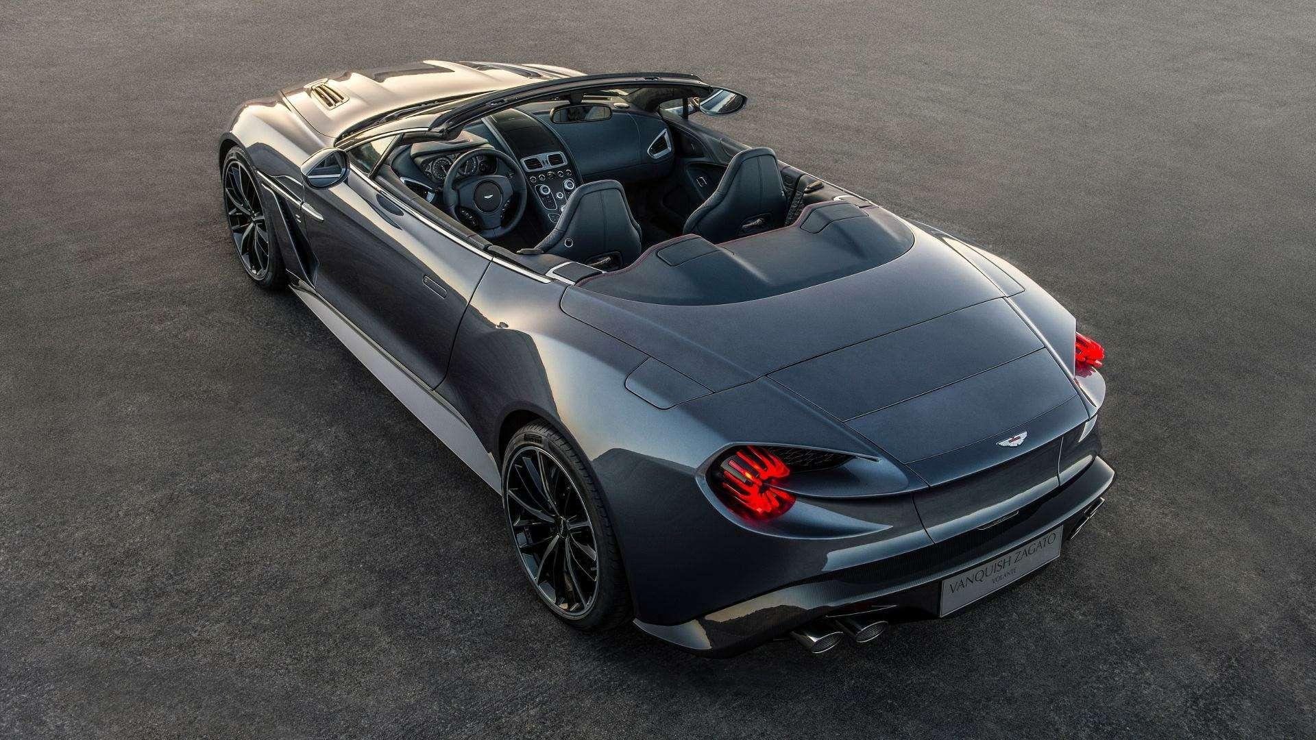 Новый, божественно красивый «сарай» Aston Martin идругие проекты Zagato— фото 808237