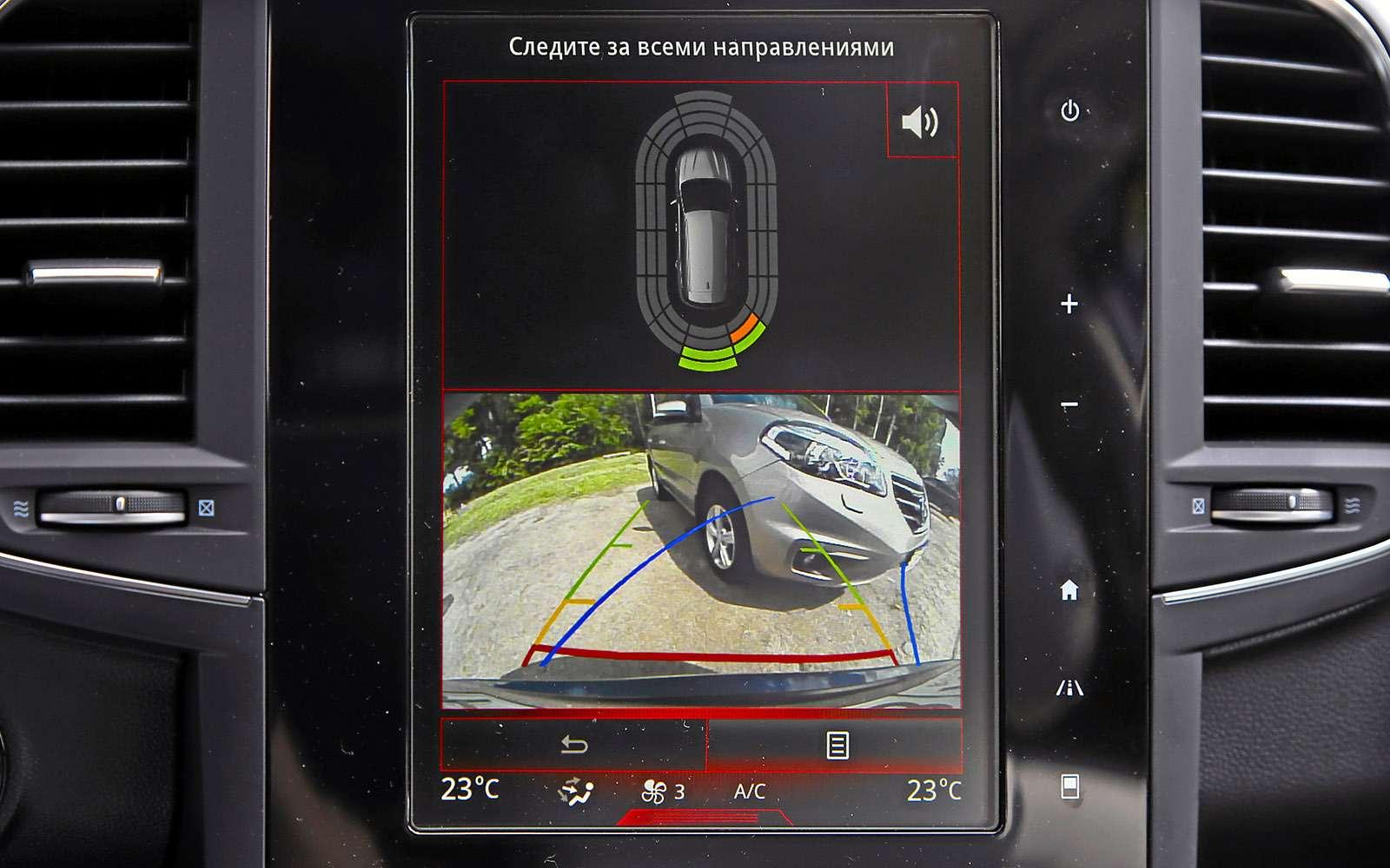 Новый Renault Koleos против конкурентов: буржуа, лесник иленивец— фото 780163