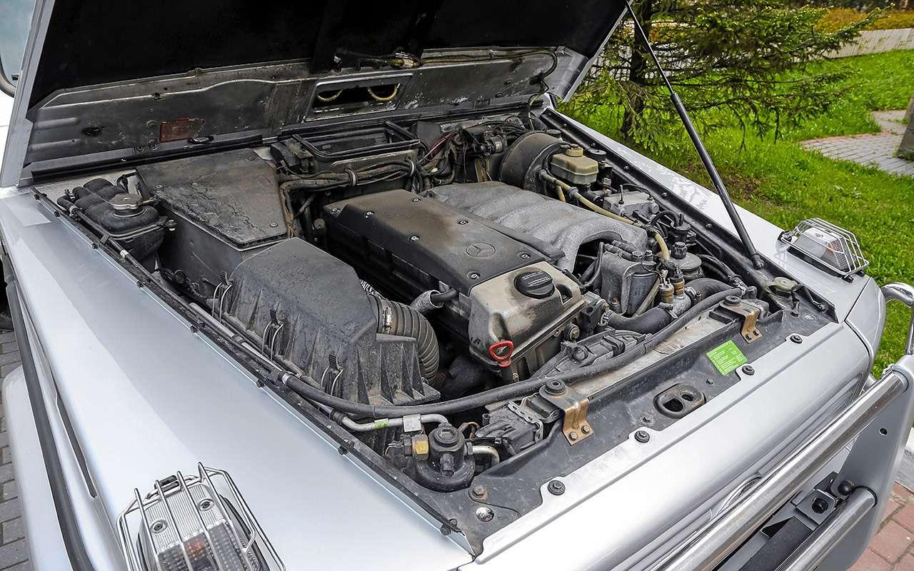 Что взять за 1 500 000 руб.: новый Дастер против 22-летнего Mercedes G300 - фото 1260700