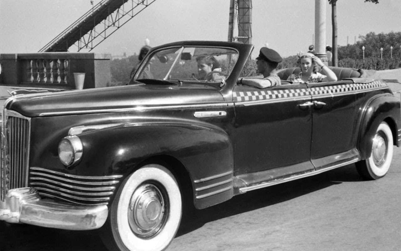 Всетакси СССР: лимузины, кабриолеты, иномарки— фото 1140117