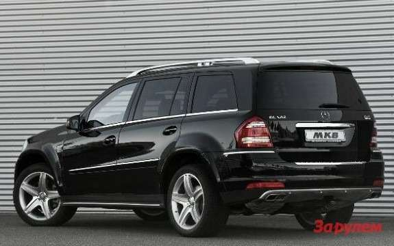 Mercedes-Benz GL-klasse with MKB P670 package side-rear view