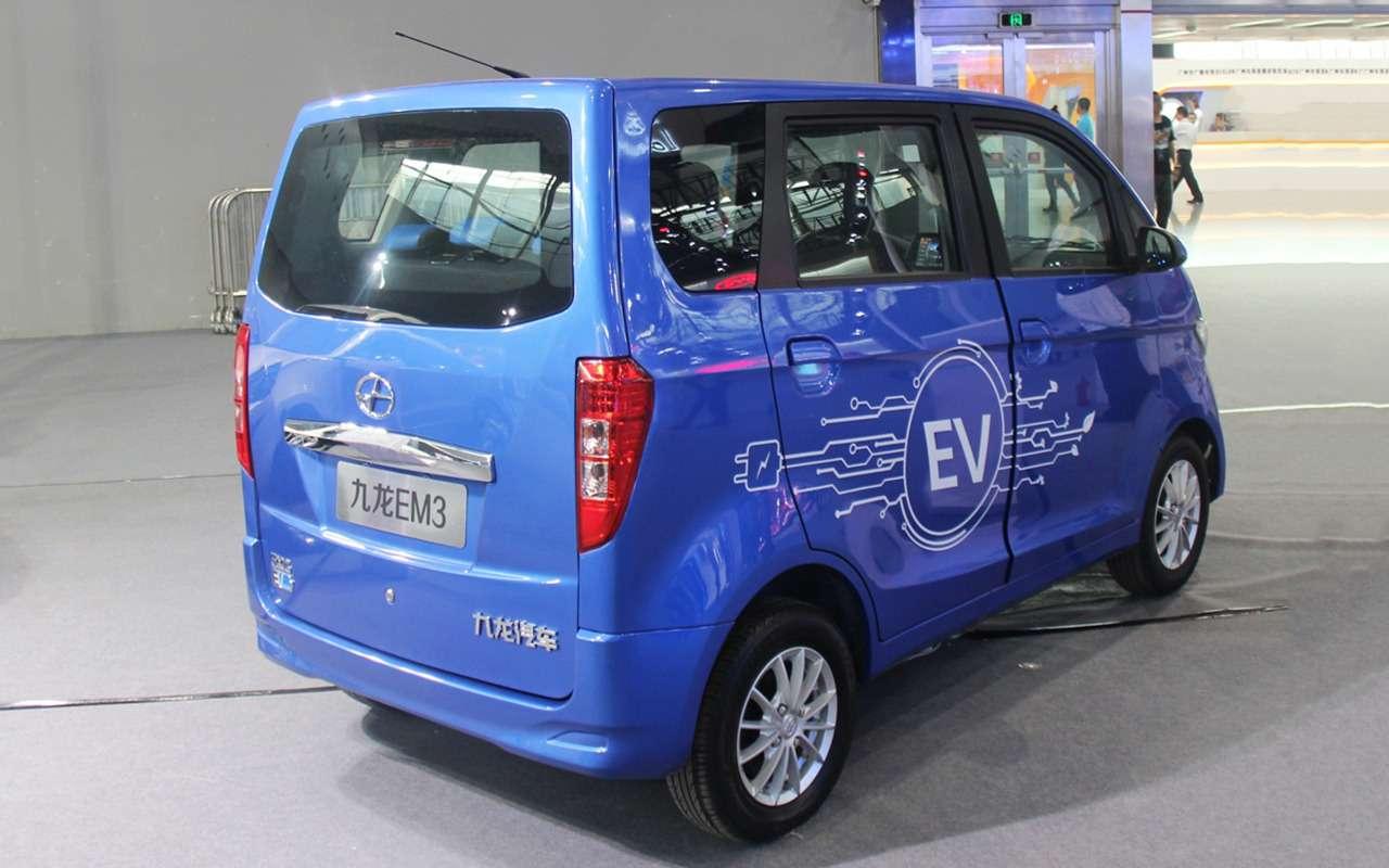 Автосалон вГуанчжоу: китайский Sportage идругие премьеры— фото 923431