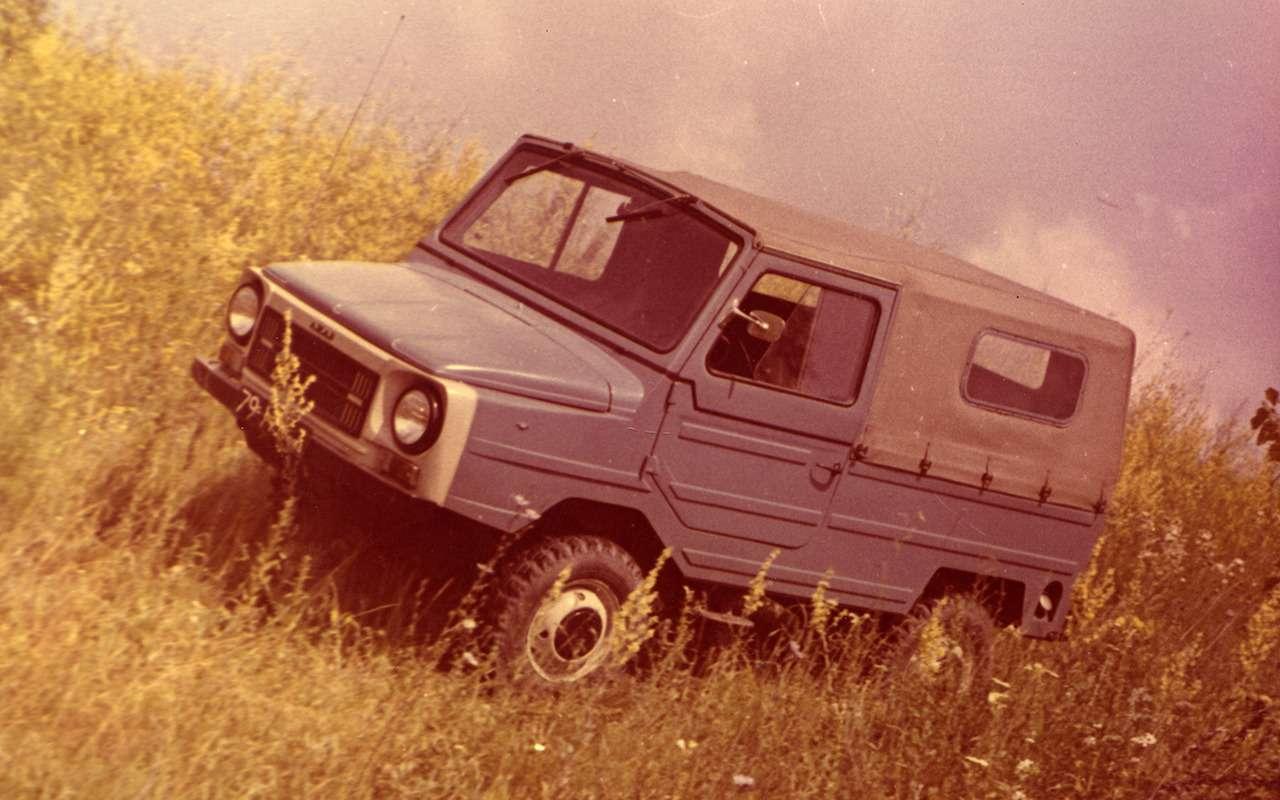 12советских внедорожников— помните, какие изних можно было купить?— фото 1009092