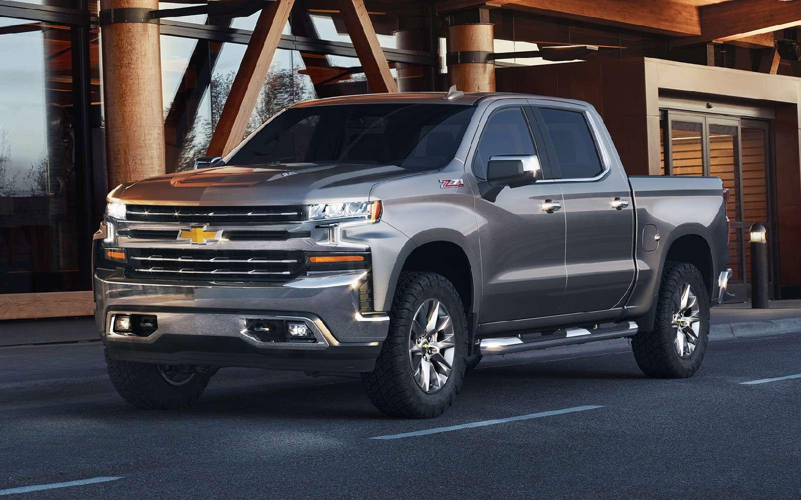 В погоне залидером: представлены новые Chevrolet Silverado иRam 1500— фото 836118