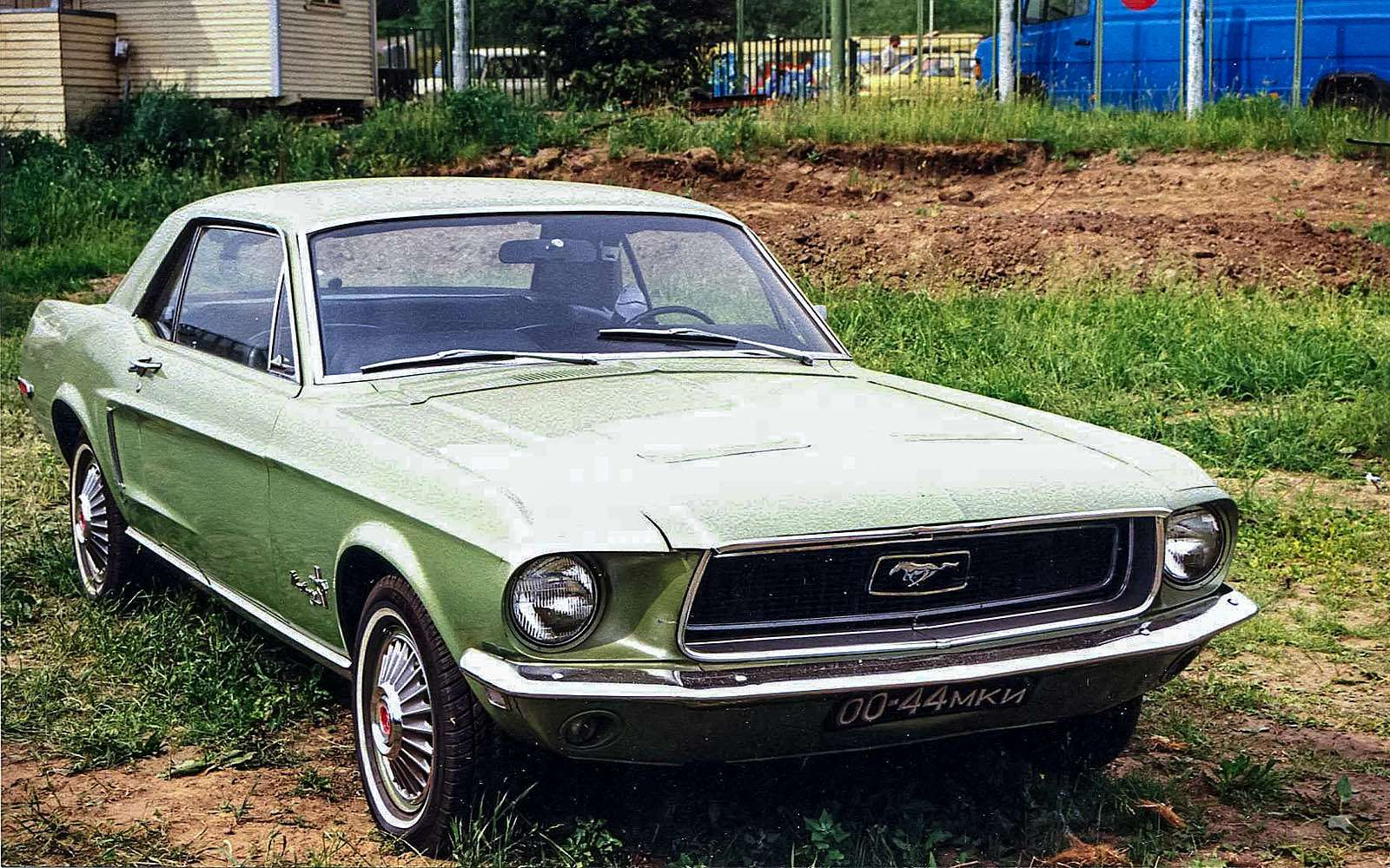 Ford Mustang, пренадлежавший Шамилю Ягудину