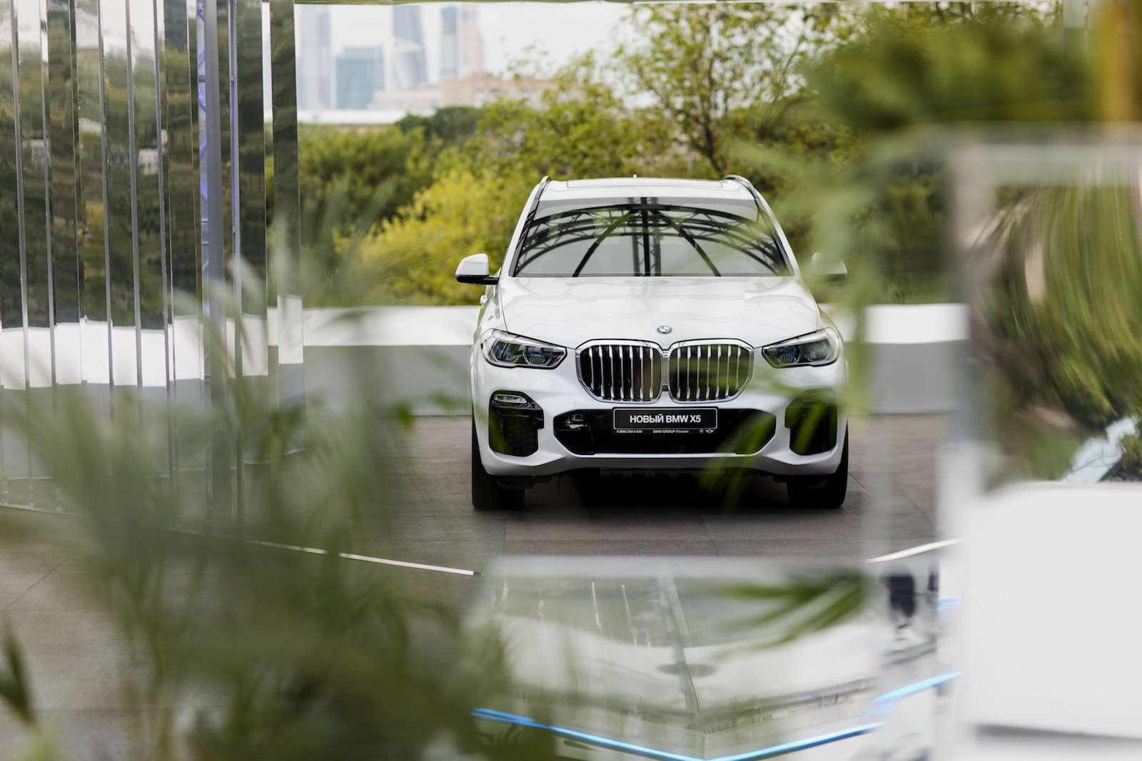 Абсолютно новый BMW X5всплыл вМоскве. Задолго доофициальной премьеры!— фото 889830