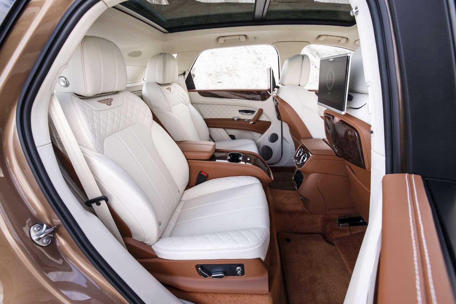 Bentley Bentayga Diesel: 4,8до сотни— самая медленная версия!— фото 884140