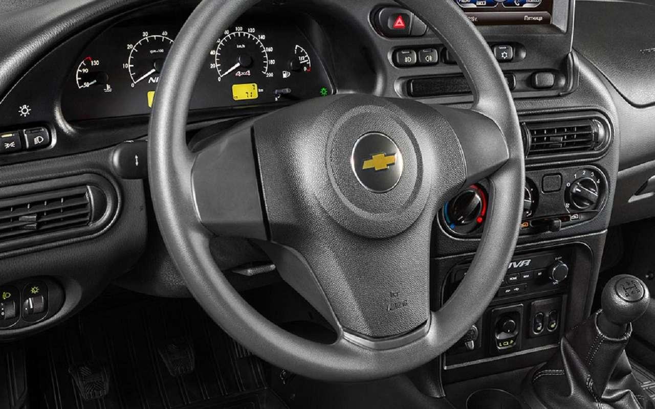 Lada Niva официально: как выглядит, какие приборы исколько стоит— фото 1144300