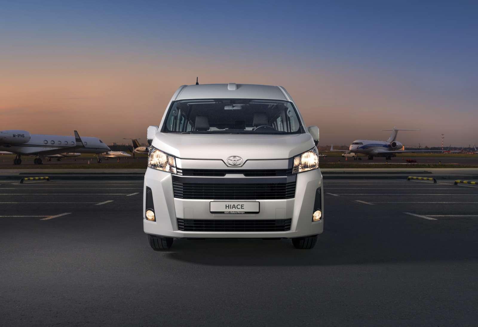 Шестое поколение Toyota Hiace: уже вРоссии— фото 984505