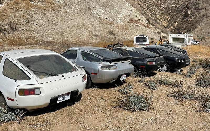 Найдено кладбище раритетных Porsche
