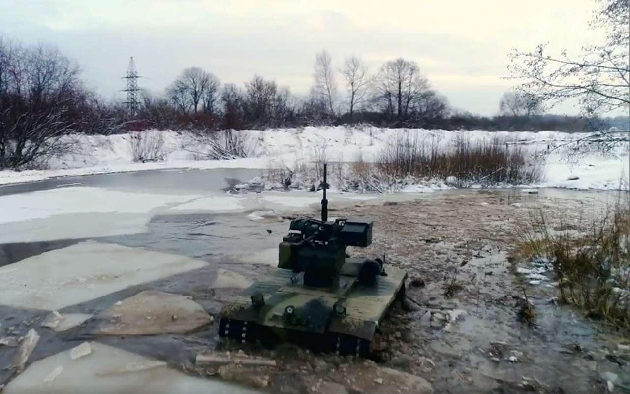 Бесконечный дозор: тест-драйв боевого робота «Нерехта»— фото 915638