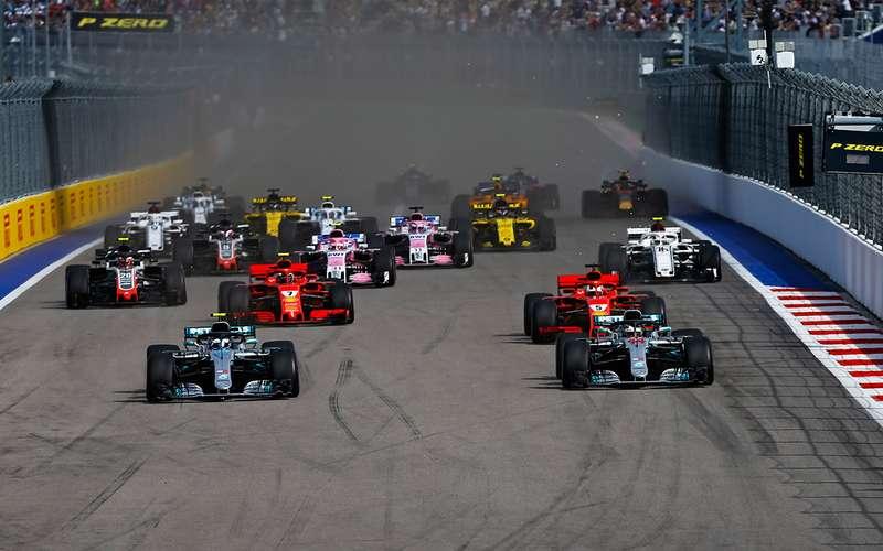 Российский этап Формулы-1: взгляд из бокса Renault Sport F1 Team
