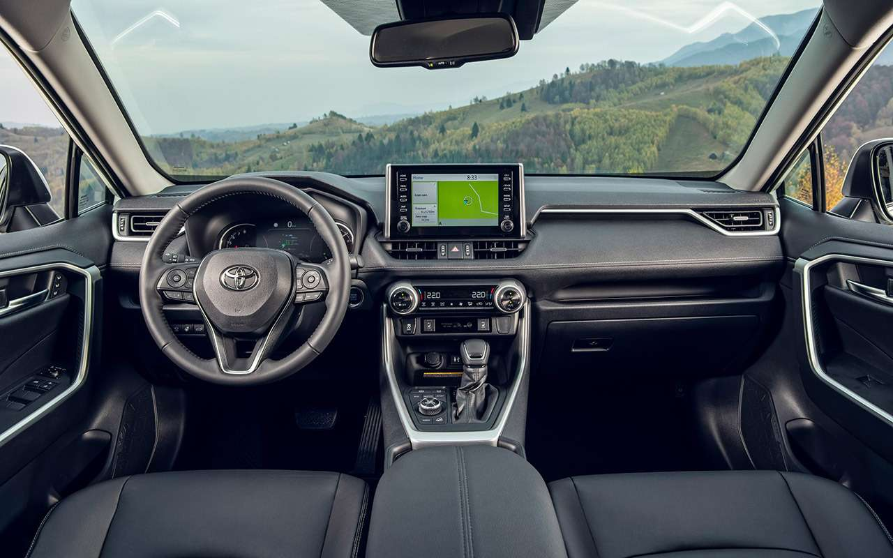 Новая Toyota RAV4: «Зарулем» проверил еезапределами асфальта— фото 1011257