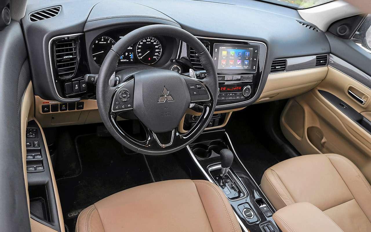 Новый Toyota RAV4, Forester иOutlander: большой тест кроссоверов— фото 1057713