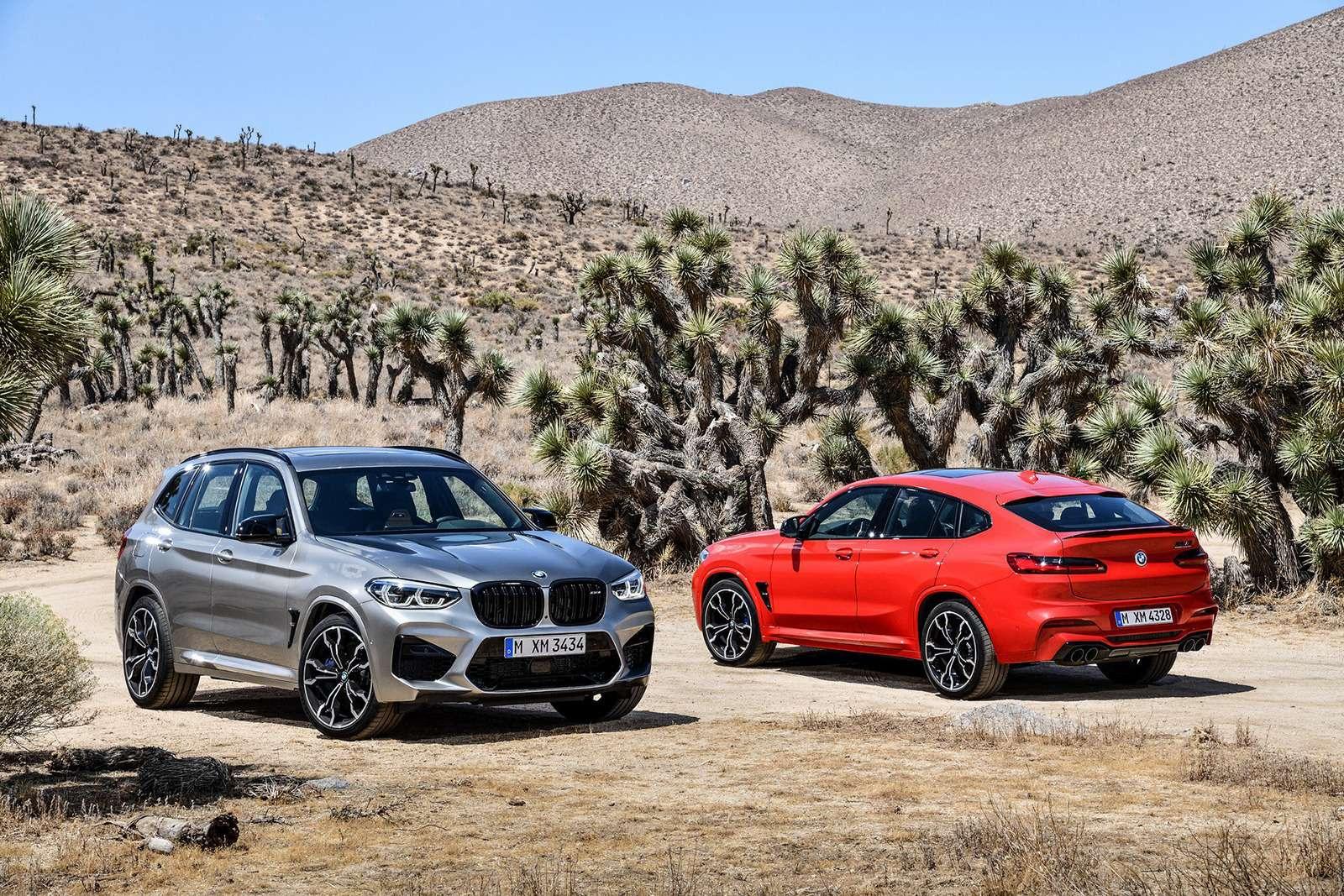 BMWрассекретила самые крутые версии кроссоверов X3и X4— фото 948694