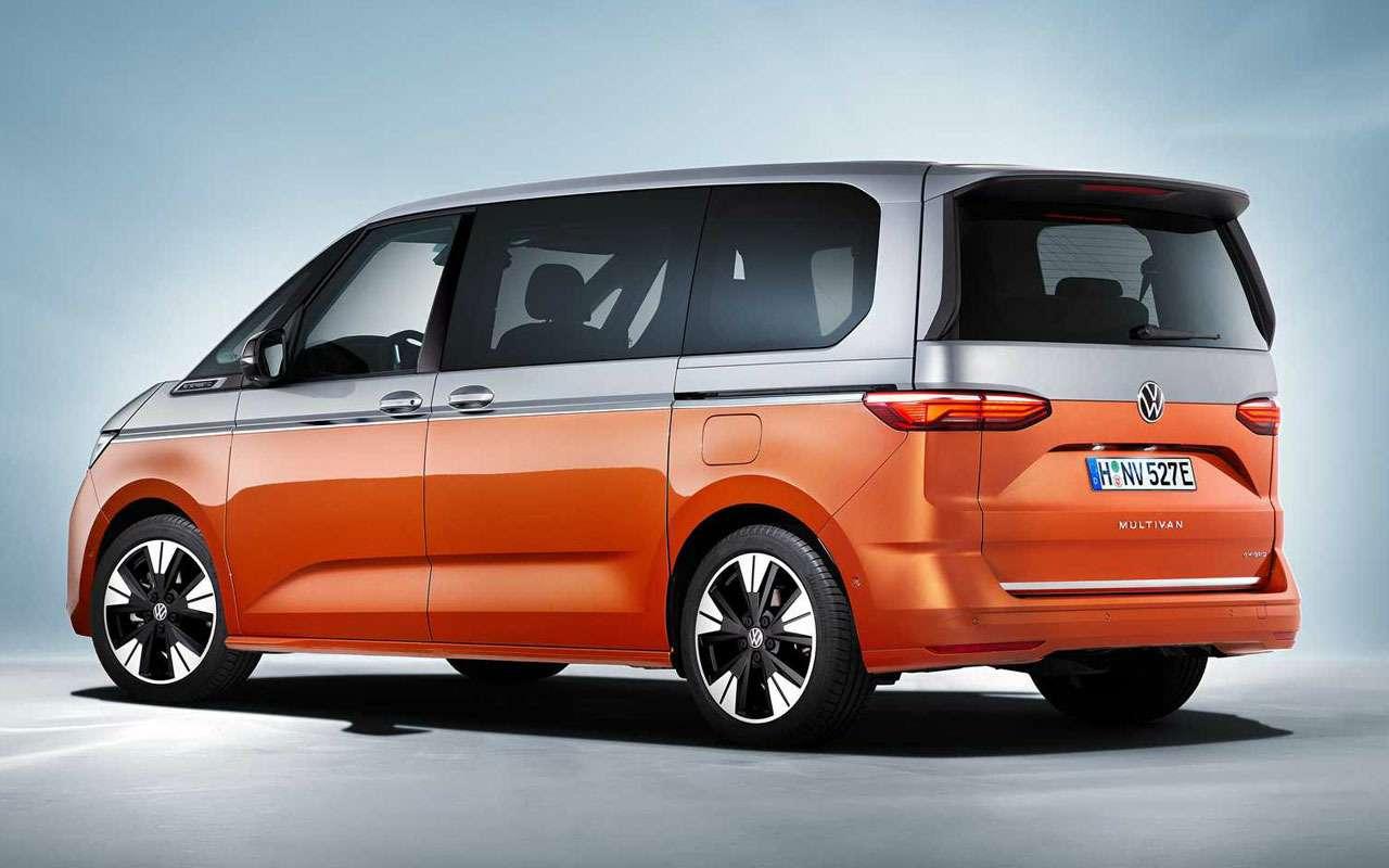 VWпредставил новое поколение Multivan— фото 1253051