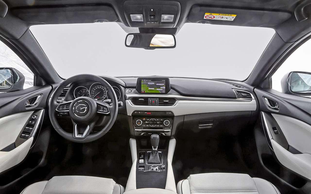 Toyota Camry против конкурентов— сравнительный тест— фото 882426