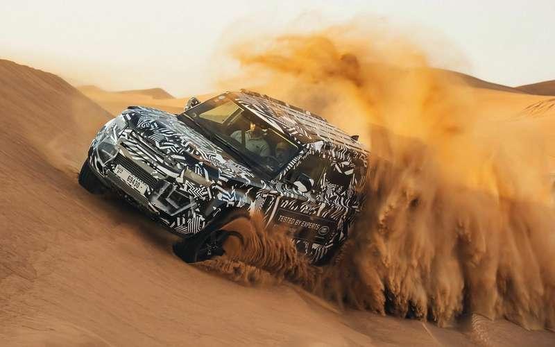 Новый Land Rover Defender: еще более проходимый