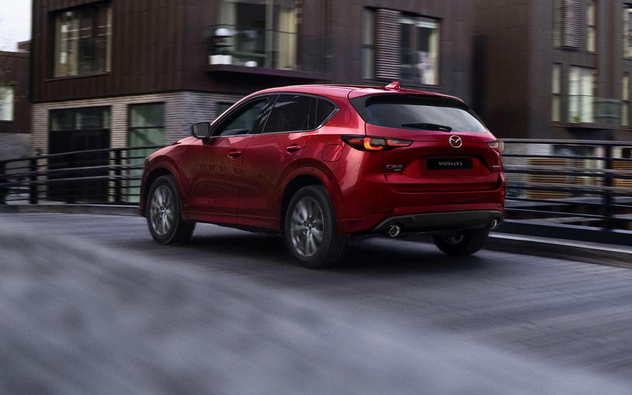 Mazda показала обновленный кроссовер CX-5— фото 1277843