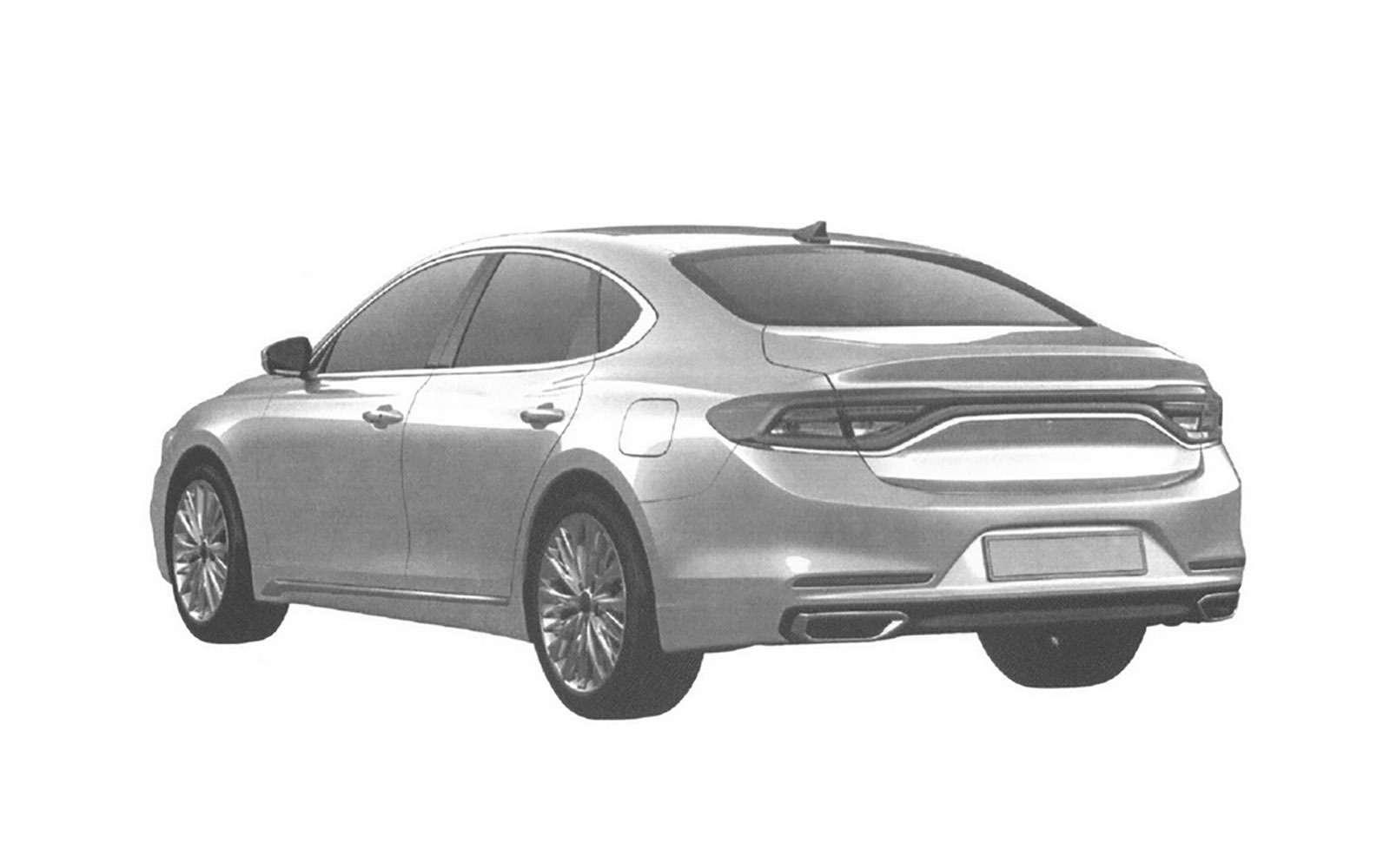 Hyundai может привезти вРоссию большой седан— фото 839180