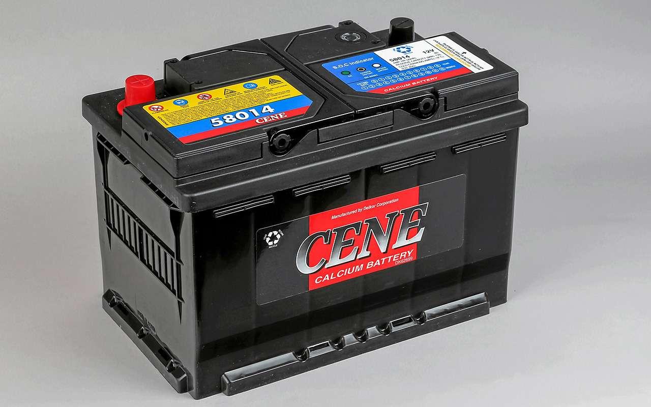 Экспертиза аккумуляторов: четыре российских против шести импортных— фото 1010723