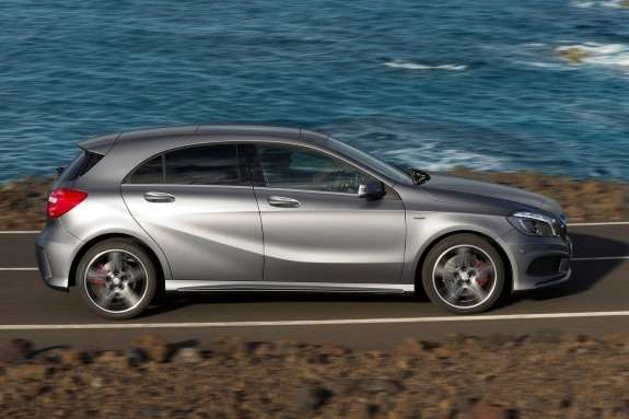Mercedes-Benz A250 Sport side view