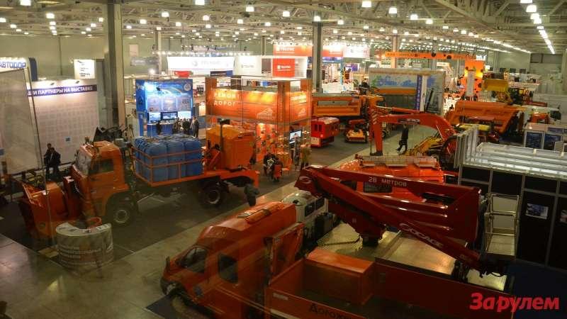 Выставка дорожных технологий вМоскве