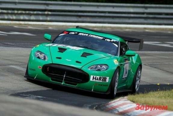 Aston Martin V12 Zagato Racecar front view