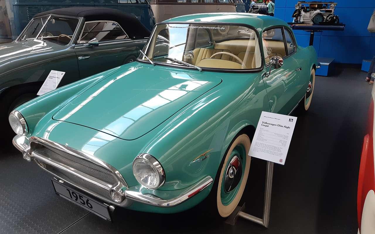 13моделей Volkswagen, которых выникогда невидели— фото 995707