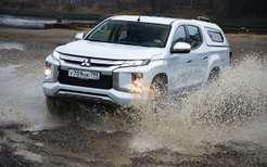 Сравнили пикапы: Mitsubishi L200и большого «китайца»