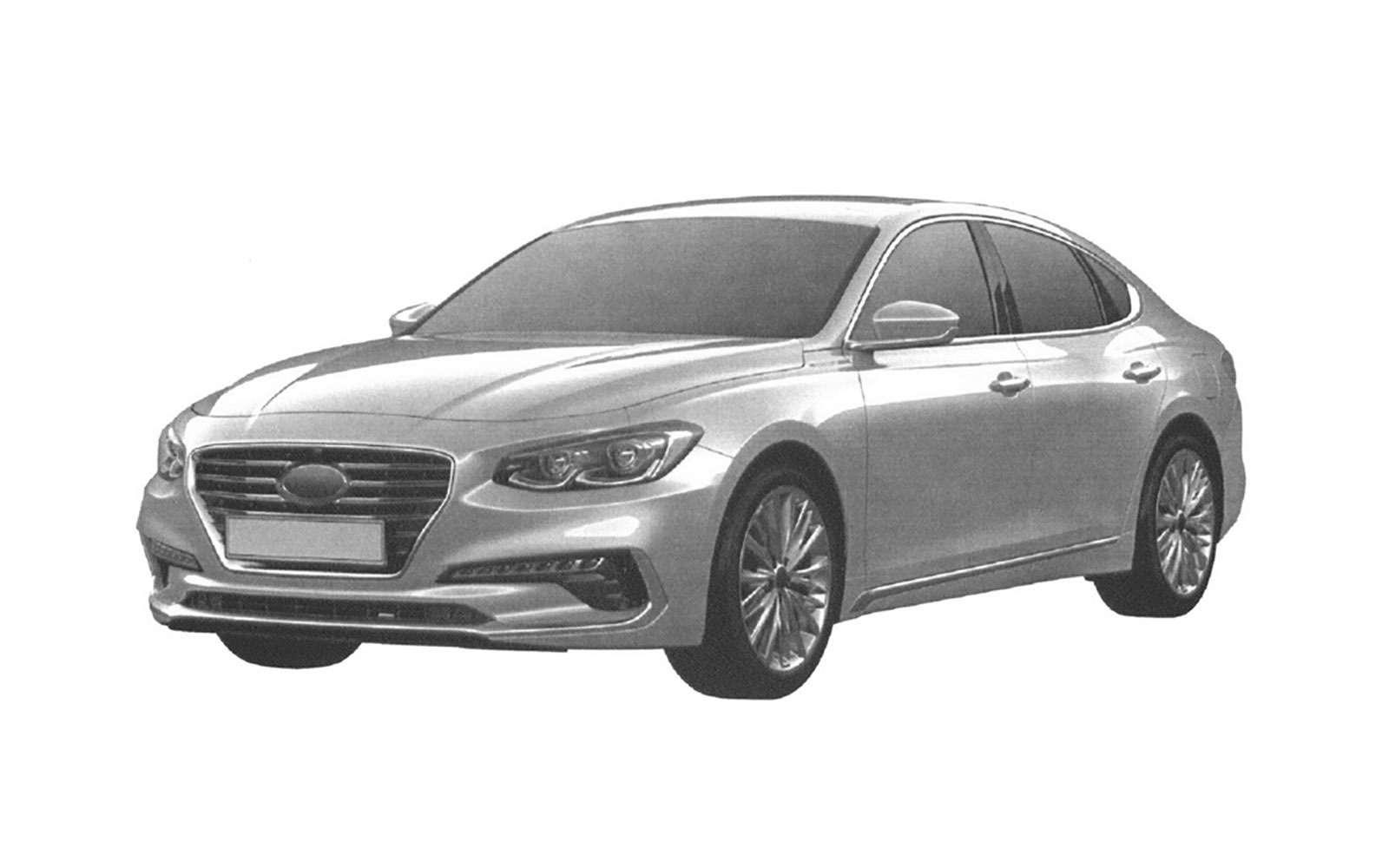 Hyundai может привезти вРоссию большой седан— фото 839178