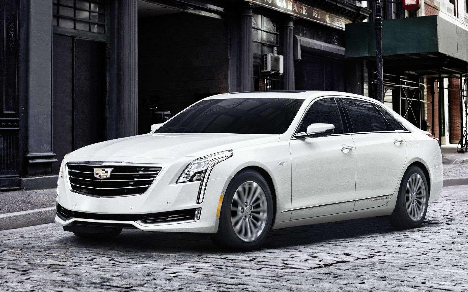 Самый высокотехнологичный Cadillac прибыл вАмерику изКитая— фото 664548