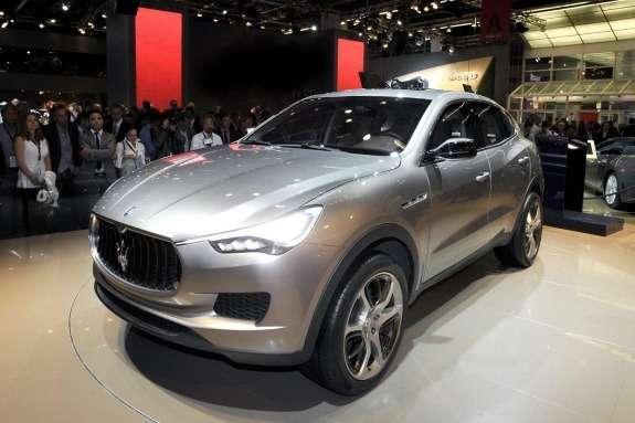 Maserati Kubang Concept side-front view