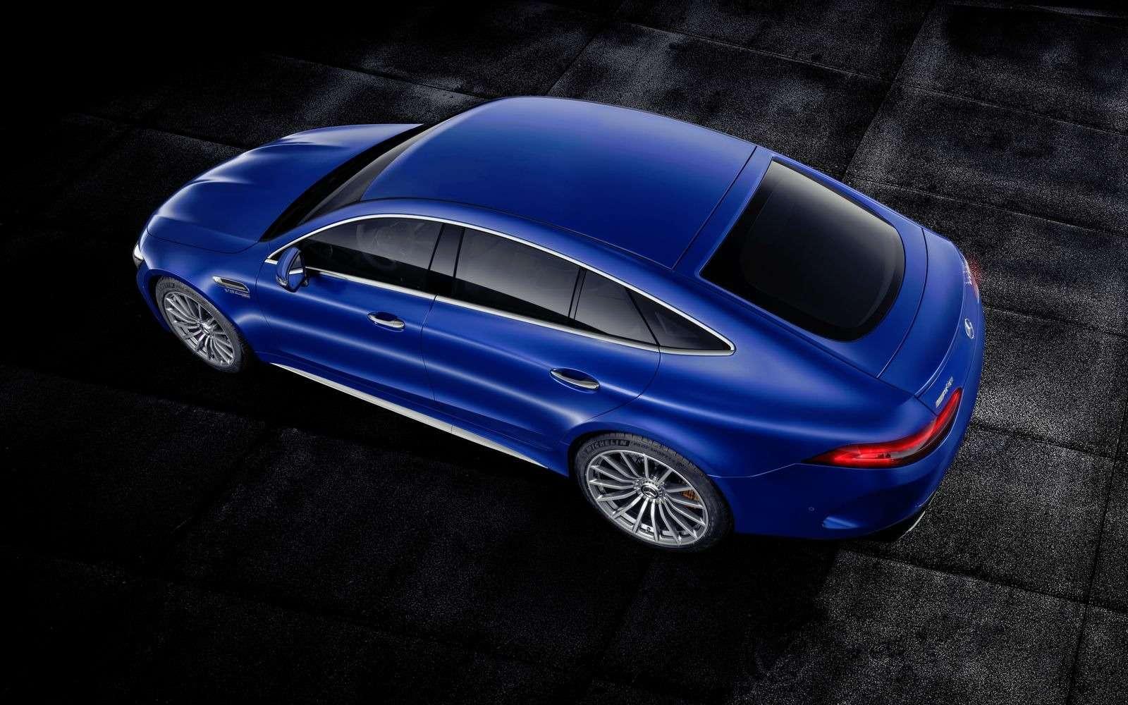Подмена! Пятидверный Mercedes-AMG GTполучил «тележку» Е-класса— фото 851517