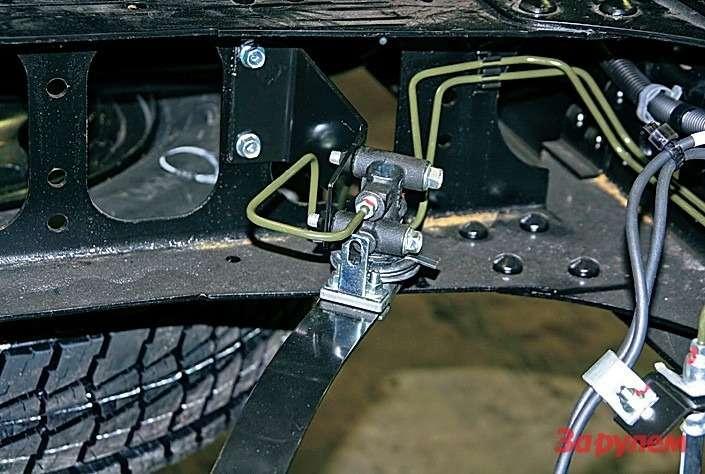 «Колдун» помогает точнее отслеживать момент блокировки колес.