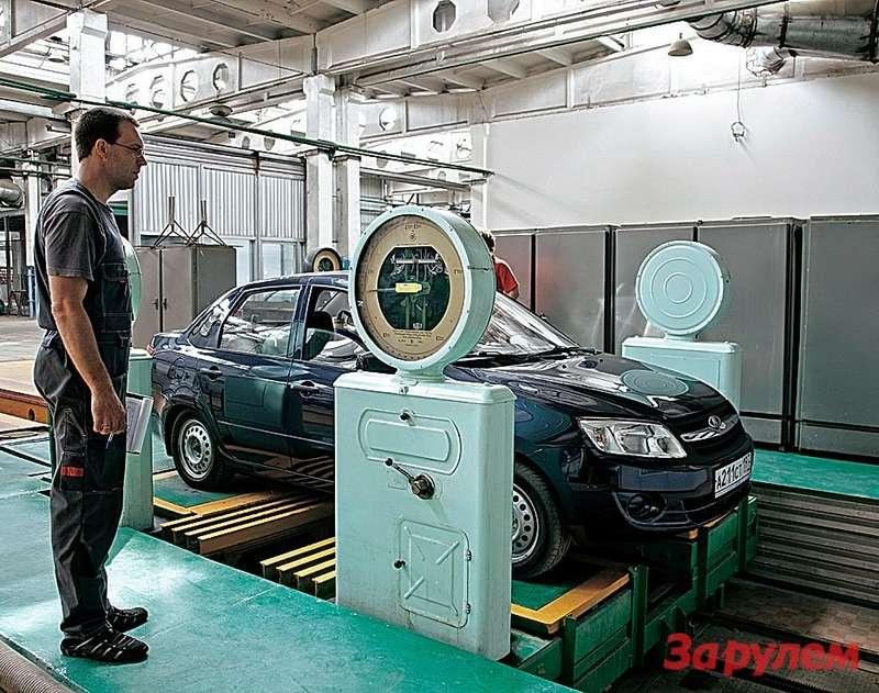 Правильно ичетко «развесить» автомобиль— половина дела.