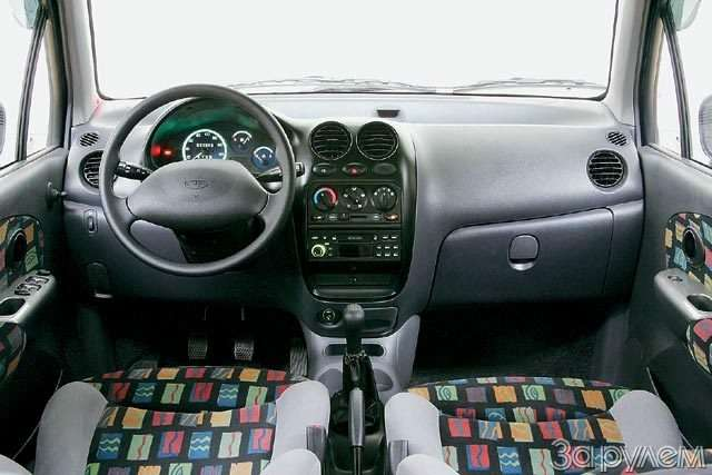 Тест Daewoo Matiz 1.0. Литр начетверых— фото 57057