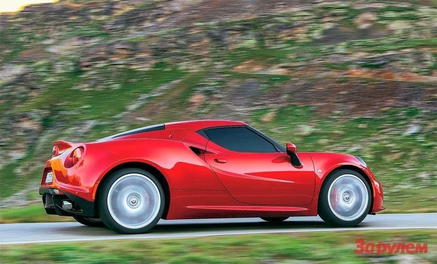 Alfa Romeo 4С: Альфа-самка— фото 258319